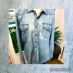 BLANKNYC Denim Shirt Size 12
